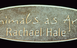 embossed label