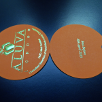 embossed and foiled tags