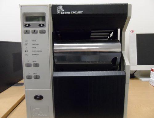 *SOLD* Zebra thermal transfer printing machine